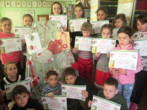 01.03.2019 Concursul mărțișoarelor organizat de bibliotecara școlii.