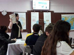 """19.04.2019 oră publică la geografie în clasa a 7-a """"Oceanul Arctic"""", prof Rașcenco Snejana"""