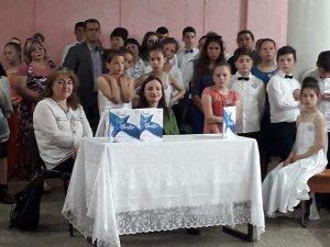 """18.05.2019 Prezentare de carte Viorica Covalschi & Eugen Doga """"Plaiule cu vise albastre"""". Bravo dn-ei Rașcenco Angela pentru organizare !!!!"""