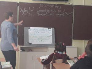 """19.12.2019 Oră  publică în clasa a II-a la matematică """"Împărțirea la 2"""", învățător – Ivasenco Despina"""